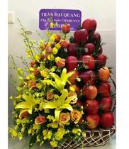 Giỏ quả đẹp sang trọng-mẫu giỏ hoa quả đẹp