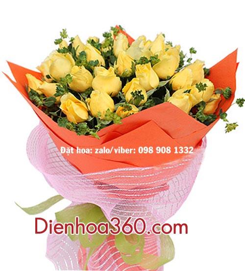 Hoa hồng vàng, bo hoa hồng vàng