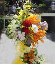 Kệ hoa chúc mừng lan hồ điệp-lãng hoa tươi
