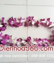 Hoa sự kiện-vòng hoa đeo cổ-hoa cài áo đại biểu thì dùng hoa gì