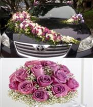Hoa cưới hồng tím-hoa cưới lan trắng