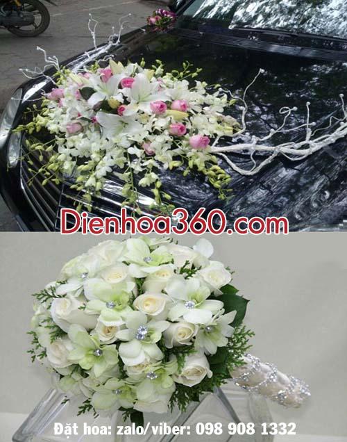 Đặt hoa cưới-xe hoa tại Hà Nội