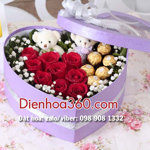Hoa Valentine | Hoa 14/02 | Hoa ngày tình nhân