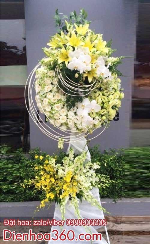 Hoa chia buồn | vòng hoa chia buồn | Kệ hoa chia buồn
