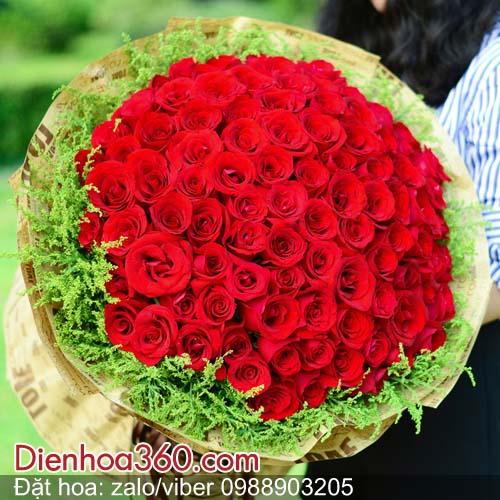 hoa tang valentine dep, hoa tang vo valentine