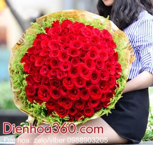 Hoa Tặng Ngày Valentine đẹp | Hoa tặng vợ Valentine