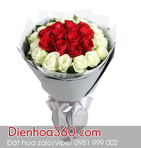 Hoa tươi đẹp | Hoa tươi giá rẻ | hoa hồng trắng