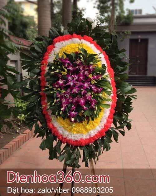 Vòng hoa đám ma nhà tang lễ 354