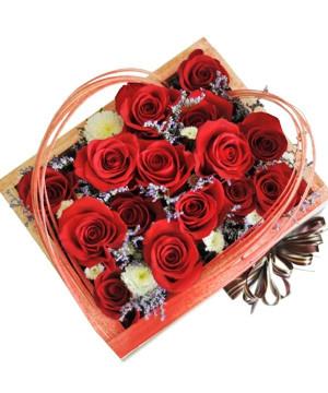 Hộp hoa hồng đẹp | hoa tặng người yêu