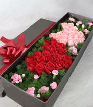 Hộp hoa hồng hình tim | hoa tươi