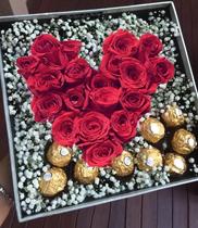 Hộp hoa hồng tặng Valentine đẹp