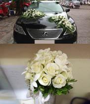 Mẫu hoa cưới giá rẻ | Đặt hoa cưới tại Hà Nội