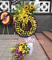 Vì sao nên đặt hoa chia buồn tại Dienhoa360 – bán vòng hoa chia buồn