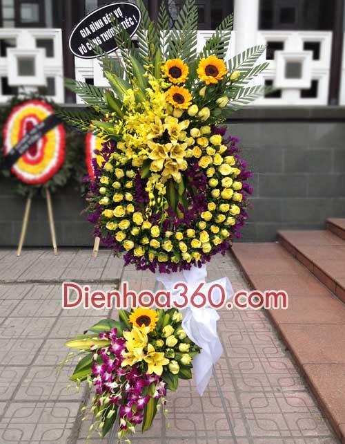 Đặt hoa tang lễ