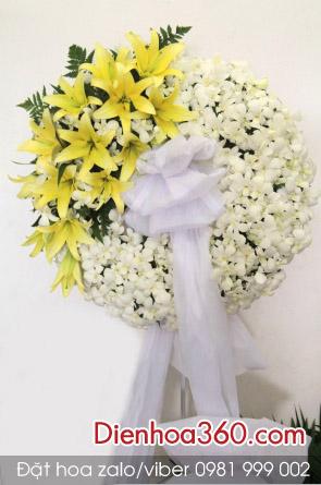 Hoa chia buồn | vòng hoa tang lễ | vong hoa đám ma