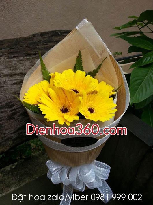 Hoa tặng đại biểu, bó hoa tặng khách mời
