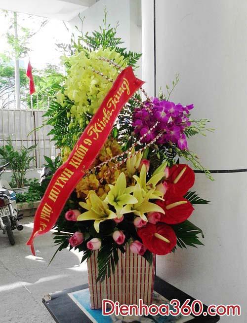 hoa tang tan gia dep, hoa ly