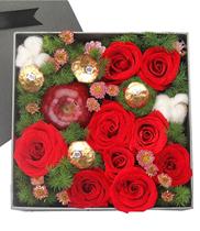Hộp hoa tặng Valentine 14/2 đẹp