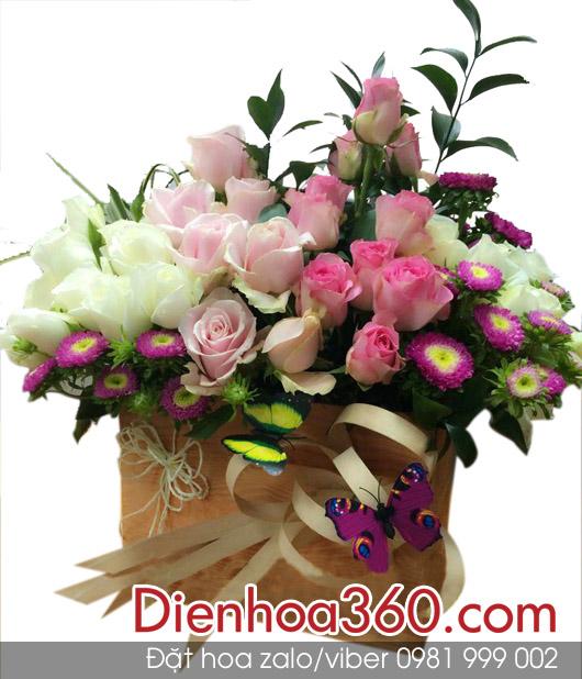 gio hoa tuoi, hoa chuc mung, hoa sinh nhat
