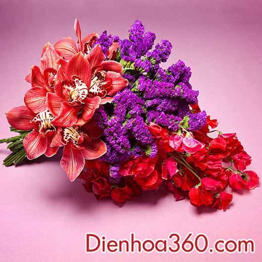 hoa cuoi cam tay dep, hoa co dau
