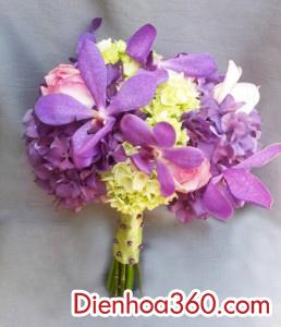 hoa cuoi dep mau tim