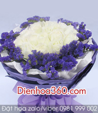 Ngôn ngữ hoa hồng trắng – gửi hoa hồng trắng trong sinh nhật có ý nghĩa gì
