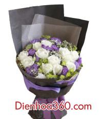 Tặng hoa sinh nhật vợ nên chọn hoa gì để có ý nghĩa