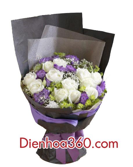 Hoa sinh nhật tặng vợ | điện hoa giá rẻ