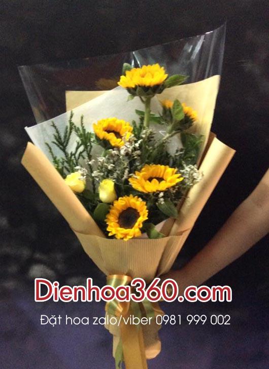 bo hoa tang ngay nha bao, hoa tuoi