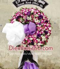 Vòng hoa viếng đám tang chùa vĩnh nghiêm quận 3 TP HCM