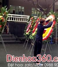 hoa chia buồn Viếng đám hiếu nhà tang lễ bệnh viện Bạch Mai