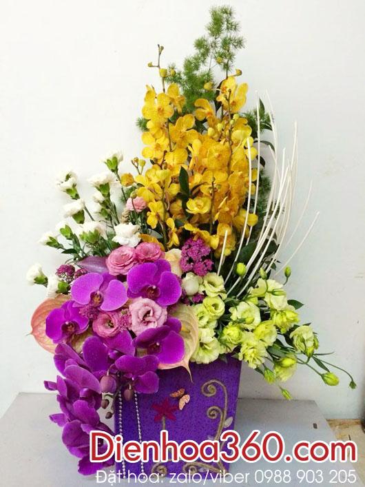 Hoa chúc mừng sinh nhật | giỏ hoa tươi