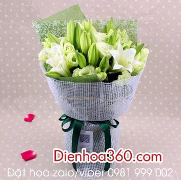 Hoa loa kèn | bó hoa loa kèn đẹp