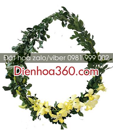 Hoa tặng đại biểu | vòng hoa đeo cổ