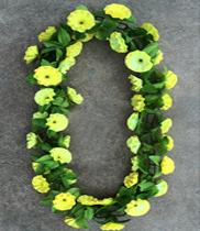 Mẫu vòng hoa đeo cổ | vòng hoa tươi đeo cổ