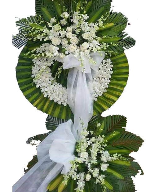 Đặt hoa viếng nhà tang lễ 125 phùng hưng