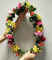 Vòng hoa đeo cổ đẹp | mẫu vòng hoa đeo cổ
