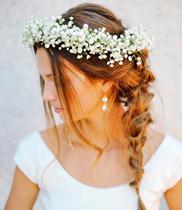 Vòng hoa đội đầu hoa baby