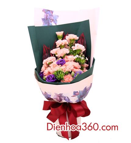 hoa sinh nhật mẹ, hoa cẩm chướng