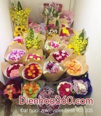 Tổng hợp mẫu hoa tặng đại biểu hội nghị