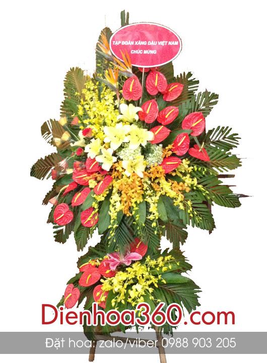 Đặt lãng hoa mừng khai giảng tại Hà Nội