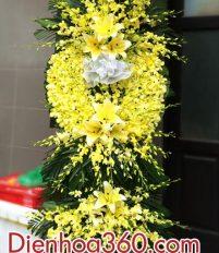 Đặt vòng hoa đám tang tại Cà Mau