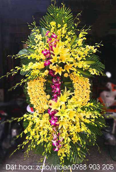 Vòng hoa đám tang hoa chia buồn