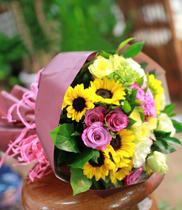 Bó hoa tặng sinh nhật hoa hồng