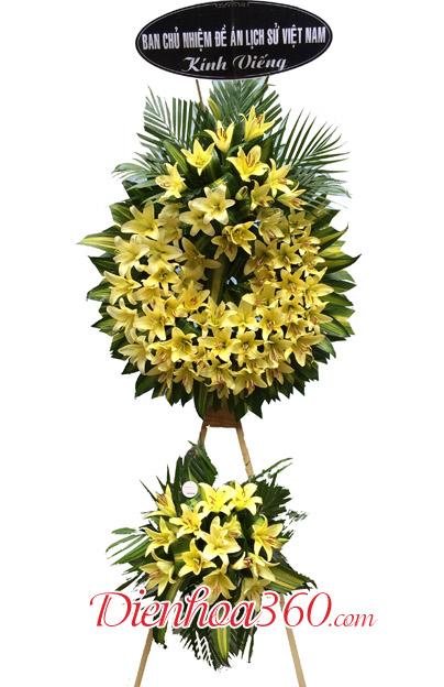 vòng hoa đám tang hoa tang lễ