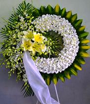 Đặt hoa chia buồn nhà tang lễ   vòng hoa viếng