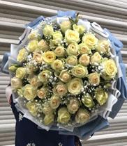 Bó hoa chân tình
