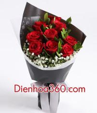 Hoa Sinh nhật tặng hoa hồng đỏ có ý nghĩa gì?