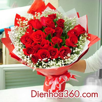 Hoa tặng 20 tháng 10, hoa đẹp 20-10
