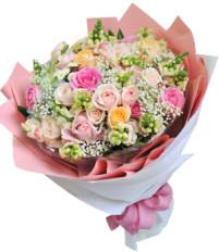 Hoa tặng mẹ ngày 20/10 và lời chúc ngày phụ nữ Việt Nam tặng mẹ